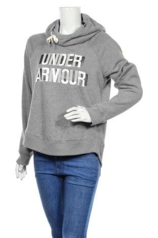 Hanorac de femei Under Armour, Mărime M, Culoare Gri, 60% bumbac, 40% poliester, Preț 139,26 Lei