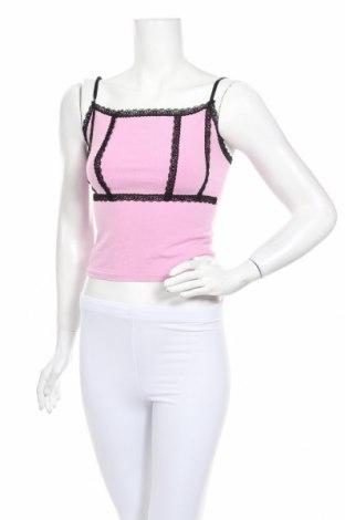 Lenjerie de corp de damă Urban Outfitters, Mărime L, Culoare Roz, 85% modal, 11% poliamidă, 4% elastan, Preț 120,89 Lei
