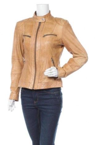 Dámské kožené sako  Street One, Velikost M, Barva Béžová, Pravá kůže, Cena  1348,00Kč