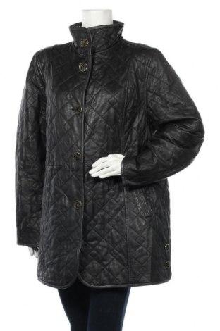 Dámská kožená bunda , Velikost XXL, Barva Černá, Pravá kůže, Cena  1091,00Kč
