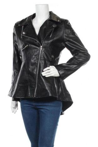 Dámská kožená bunda , Velikost L, Barva Černá, Eko kůže, Cena  727,00Kč