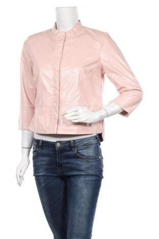 Дамско кожено яке ONLY, Размер M, Цвят Розов, Еко кожа, Цена 35,55лв.