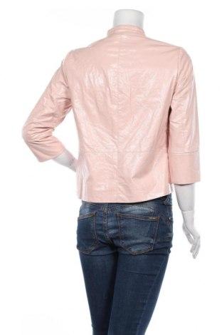 Дамско кожено яке ONLY, Размер M, Цвят Розов, Еко кожа, Цена 59,25лв.