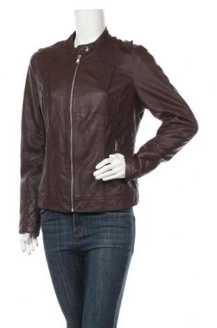 Дамско кожено яке Orsay, Размер XL, Цвят Кафяв, Еко кожа, Цена 44,10лв.