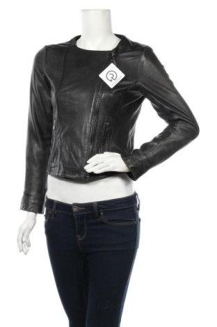 Dámská kožená bunda  Reserved, Velikost S, Barva Černá, Pravá kůže, Cena  1196,00Kč