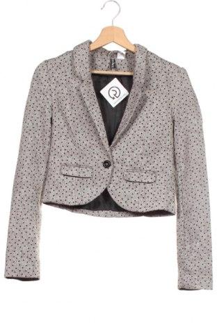 Γυναικείο σακάκι H&M Divided, Μέγεθος XS, Χρώμα Καφέ, 90% πολυεστέρας, 10% μαλλί, Τιμή 17,28€