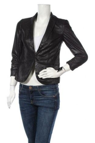 Дамско сако INC International Concepts, Размер S, Цвят Черен, Полиестер, Цена 23,36лв.
