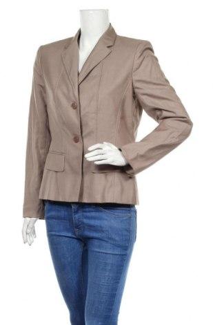 Дамско сако Jones Wear, Размер M, Цвят Бежов, 80% полиестер, 20% вискоза, Цена 27,60лв.