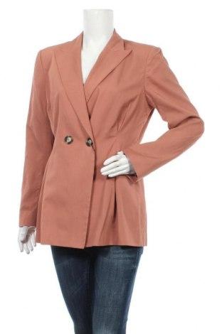 Дамско сако Massimo Dutti, Размер XL, Цвят Розов, 68% вискоза, 32% памук, Цена 87,60лв.