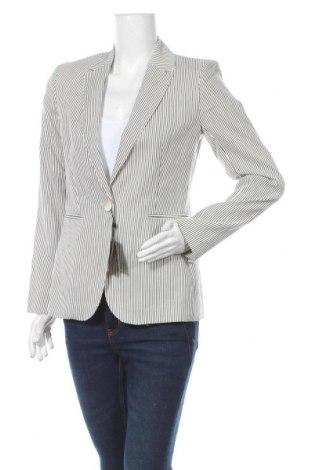 Дамско сако Massimo Dutti, Размер M, Цвят Бял, 38% вискоза, 37% памук, 25% лен, Цена 75,60лв.