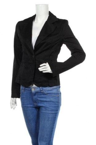 Дамско сако Rinascimento, Размер L, Цвят Черен, 97% памук, 3% еластан, Цена 17,98лв.