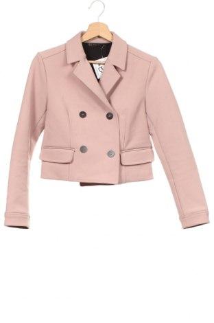 Dámské sako  Zara, Velikost XS, Barva Růžová, Cena  545,00Kč