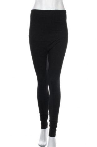 Дамско спортно долнище, Размер M, Цвят Черен, Памук, еластан, Цена 9,45лв.