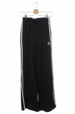 Дамско спортно долнище Adidas Originals, Размер XS, Цвят Черен, 50% памук, 43% полиестер, 7% еластан, Цена 59,40лв.