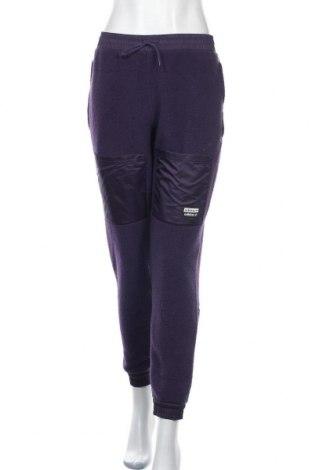 Дамско спортно долнище Adidas Originals, Размер S, Цвят Лилав, Полиестер, Цена 59,40лв.