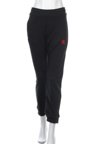 Дамско спортно долнище Adidas Originals, Размер S, Цвят Черен, Памук, Цена 59,40лв.