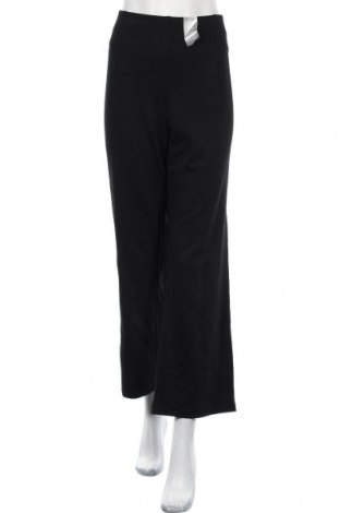 Γυναικείο αθλητικό παντελόνι Suzanne Grae, Μέγεθος XXL, Χρώμα Μαύρο, 68% βισκόζη, 27% πολυαμίδη, 5% ελαστάνη, Τιμή 8,18€