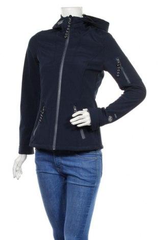 Dámská sportovní bunda  Colours Of The World, Velikost S, Barva Modrá, 94% polyester, 6% elastan, Cena  670,00Kč