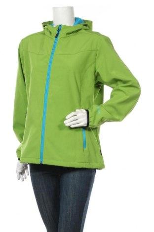 Dámská sportovní bunda  Disegna, Velikost XL, Barva Zelená, 94% polyester, 6% elastan, Cena  670,00Kč