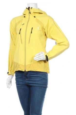 Dámská sportovní bunda  Haglofs, Velikost M, Barva Žlutá, Polyester, Cena  893,00Kč