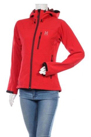 Dámská sportovní bunda  Haglofs, Velikost M, Barva Červená, 94% polyester, 6% elastan, Cena  1371,00Kč