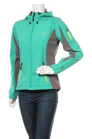 Dámská sportovní bunda  Ock, Velikost S, Barva Zelená, 94% polyester, 6% elastan, Cena  861,00Kč