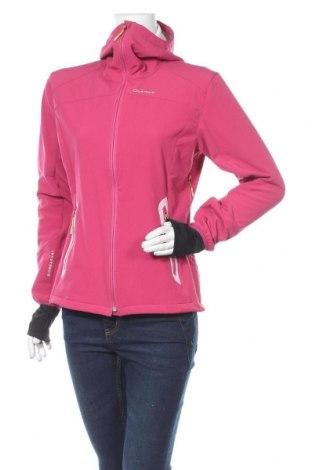 Dámská sportovní bunda  Quechua, Velikost M, Barva Růžová, 83% polyester, 10% polyurethane, 7% elastan, Cena  606,00Kč