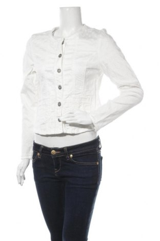 Дамско яке Cream, Размер M, Цвят Бял, 98% памук, 2% еластан, Цена 94,17лв.