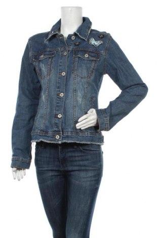 Дамско яке Gina, Размер XL, Цвят Син, 98% памук, 2% еластан, Цена 39,90лв.