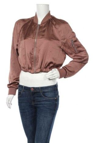 Γυναικείο μπουφάν H&M Divided, Μέγεθος L, Χρώμα Καφέ, 100% πολυεστέρας, Τιμή 20,98€