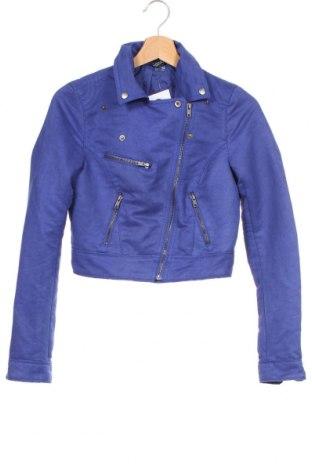 Γυναικείο μπουφάν H&M Divided, Μέγεθος XS, Χρώμα Μπλέ, Πολυεστέρας, Τιμή 22,83€
