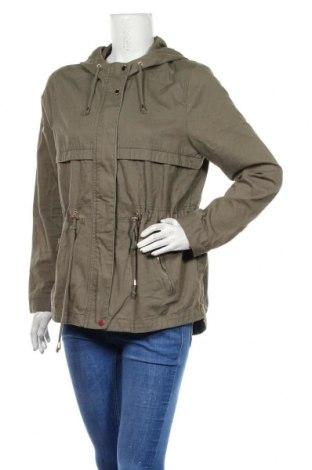 Γυναικείο μπουφάν H&M Divided, Μέγεθος L, Χρώμα Πράσινο, Βαμβάκι, Τιμή 22,83€