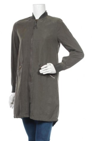 Γυναικείο μπουφάν H&M Divided, Μέγεθος S, Χρώμα Πράσινο, 70% μοντάλ, 30% πολυεστέρας, Τιμή 21,59€
