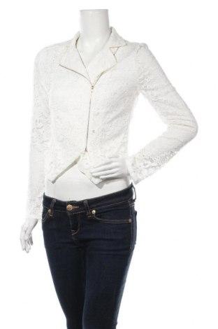 Дамско яке Jennifer Taylor, Размер M, Цвят Бял, 100% полиестер, Цена 23,14лв.