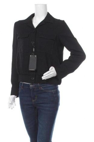 Дамско яке Massimo Dutti, Размер M, Цвят Черен, 97% вискоза, 3% еластан, Цена 89,40лв.