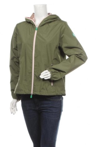 Дамско яке Save The Duck, Размер L, Цвят Зелен, Полиестер, Цена 167,17лв.