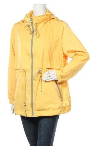Γυναικείο μπουφάν Tom Tailor, Μέγεθος XXL, Χρώμα Κίτρινο, Πολυεστέρας, Τιμή 35,33€