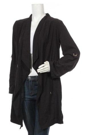 Дамска жилетка Zara, Размер L, Цвят Черен, Цена 51,87лв.
