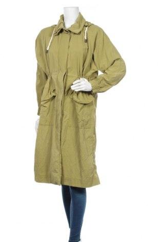 Дамско яке Zara, Размер M, Цвят Зелен, Цена 64,84лв.