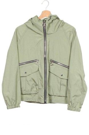 Дамско яке Zara, Размер XS, Цвят Зелен, Полиестер, Цена 37,91лв.