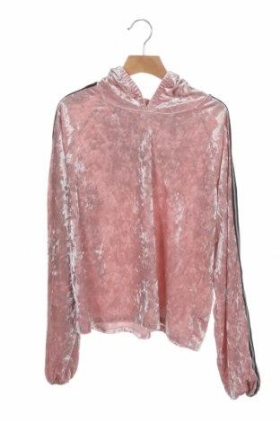 Детска блуза Design By Kappahl, Размер 12-13y/ 158-164 см, Цвят Розов, 95% полиестер, 5% еластан, Цена 13,44лв.