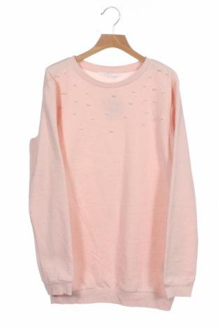 Детска блуза H&M, Размер 12-13y/ 158-164 см, Цвят Розов, 60% памук, 40% полиестер, Цена 13,44лв.