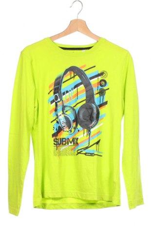 Детска блуза Here+There, Размер 15-18y/ 170-176 см, Цвят Зелен, Памук, Цена 11,76лв.