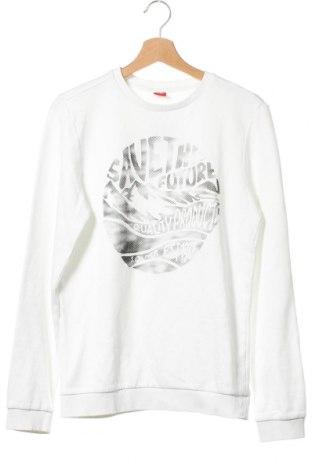 Детска блуза S.Oliver, Размер 15-18y/ 170-176 см, Цвят Бял, 90% памук, 10% полиестер, Цена 15,96лв.
