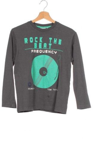 Παιδική μπλούζα Tom Tailor, Μέγεθος 9-10y/ 140-146 εκ., Χρώμα Γκρί, Βαμβάκι, Τιμή 14,55€