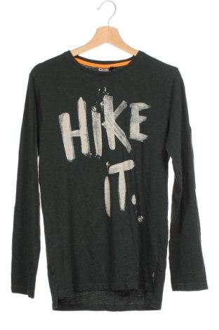 Детска блуза Tumble'n Dry, Размер 15-18y/ 170-176 см, Цвят Зелен, Памук, Цена 13,44лв.