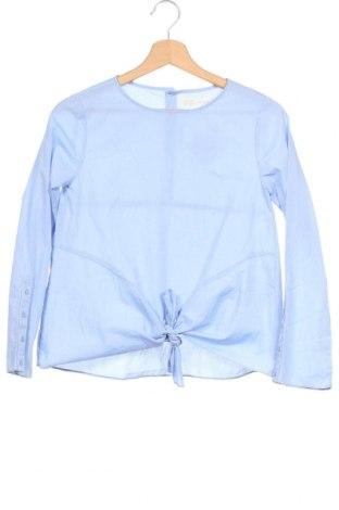 Παιδική μπλούζα Zara, Μέγεθος 13-14y/ 164-168 εκ., Χρώμα Μπλέ, 55% βαμβάκι, 45% πολυεστέρας, Τιμή 15,07€
