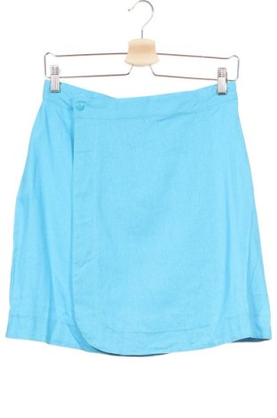 Dziecięca spódnica, Rozmiar 15-18y/ 170-176 cm, Kolor Niebieski, 55% len, 45% wiskoza, Cena 25,20zł