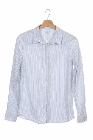 Детска риза Mango, Размер 12-13y/ 158-164 см, Цвят Син, Памук, Цена 8,51лв.