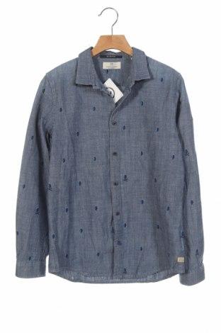 Παιδικό πουκάμισο Scotch & Soda, Μέγεθος 11-12y/ 152-158 εκ., Χρώμα Μπλέ, Βαμβάκι, Τιμή 17,66€
